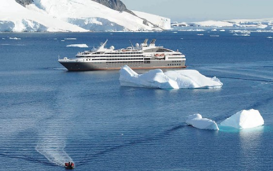 Fin.極上のポナンクルーズで巡る 南極半島とサウス・シェットランド諸島の旅