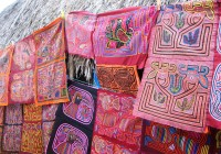Fin.パナマ・サンブラス諸島~伝統刺繍モラを求めて