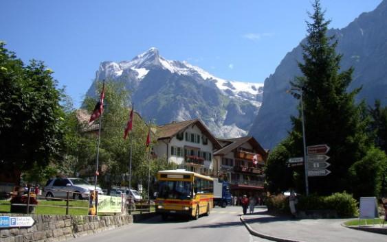 Fin.『スイス・アルプス短期滞在計画』