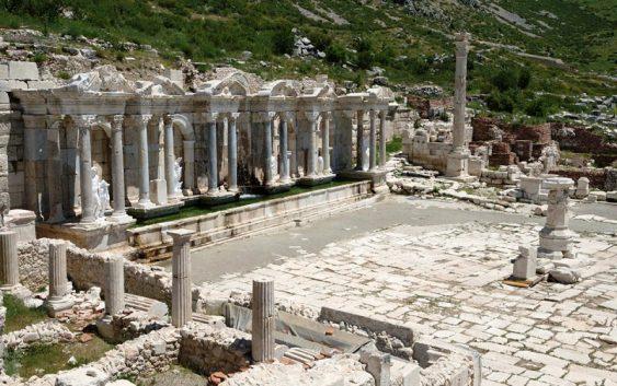 2019/04/11発トルコ縦断~サガラッソスとフリギア王国の遺跡を訪ねて 10日間