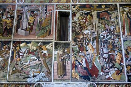 Columnラ・ブリーグ村のノートルダム・デ・フォンテーヌ礼拝堂